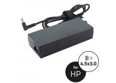 HP 19,5V 4,62A (90W) kék center pin laptop adapter