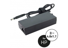 HP 19,5V 3,33A (65W) lépcsős laptop adapter